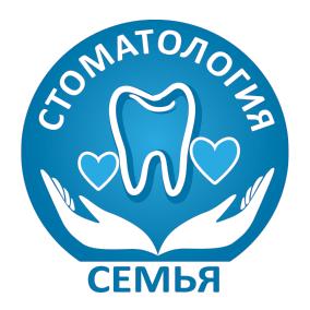 Логотип стоматологии Семья в Лобне